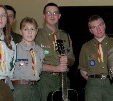Na obozie harcerki i harcerze z Polski spotkają się ze skautami z Anglii i USA./fot. Arkadiusz Cygan /MWMedia