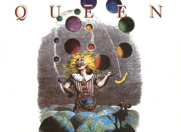 """Na okładce płyty """"Innuendo"""" Queen znalazł się nieco zmieniony rysunek Grandville'a /"""