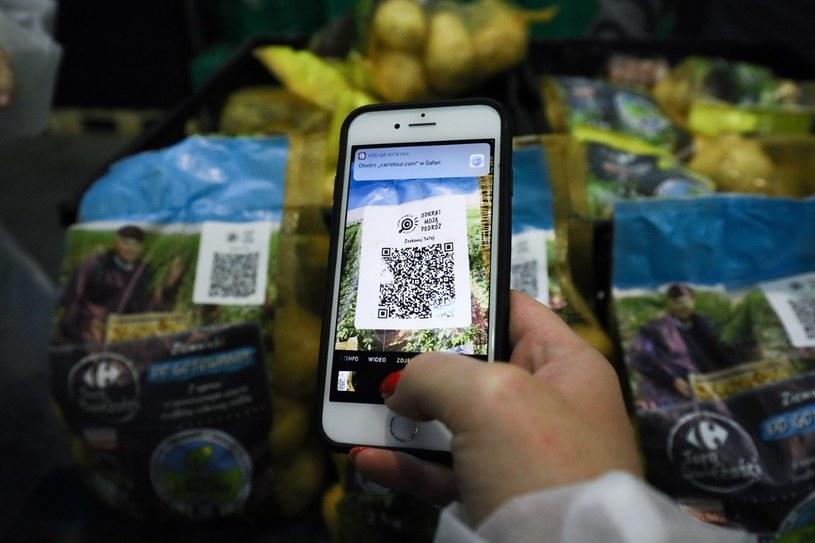 Na opakowaniu ziemniaków znajdzie się kod QR /materiały prasowe