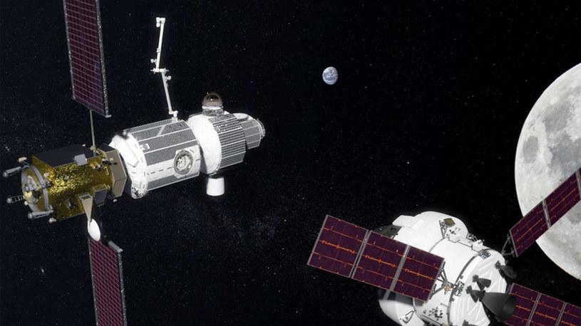 Na orbicie Księżyca powstanie stacja kosmiczna /NASA