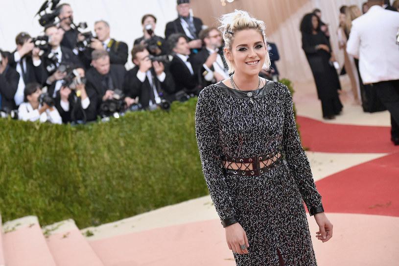 Na ostatniej imprezie Kristen bawiła się sama /Mike Coppola /Getty Images