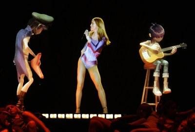 Na otwarcie wystąpiła Madonna z animowaną grupą Gorillaz /arch. AFP