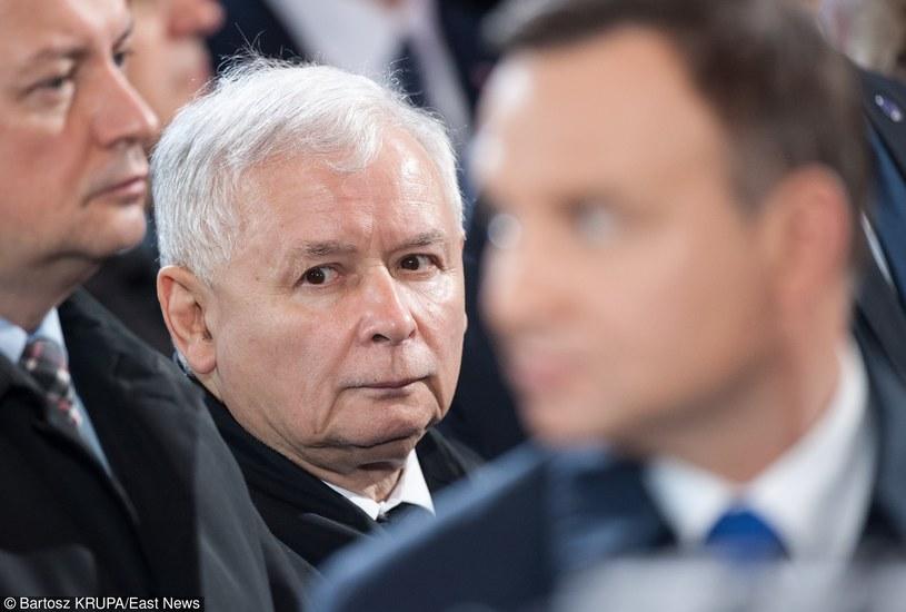 """""""Na Pałac Prezydencki nie mam najmniejszego wpływu. Najmniejszego. Zupełnie"""" - powiedział w ostatnim wywiadzie dla tygodnika """"W Sieci"""" Jarosław Kaczyński /Bartosz Krupa /East News"""