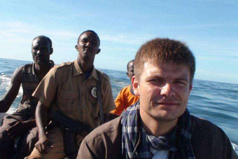 Na patrolu z wojskami somalijskimi strzegacymi wybrzeży przed piratami./fot. z archiwum Rafała Stańczyka /Styl.pl
