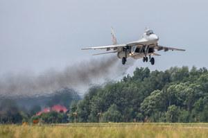 """""""Na pewno nie doszło do ostrzelania MiG-29"""". W myśliwiec miała uderzyć łuska"""