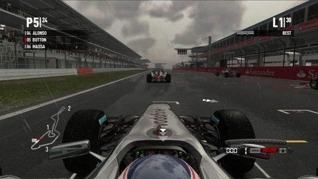 Na pierwszy rzut oka widać, że Codemasters postawiło na dobre odwzorowanie realiów wyścigów F1 /INTERIA.PL