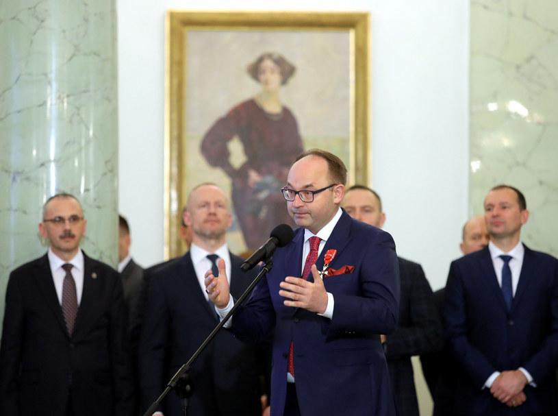 Na pierwszym planie: Dyrektor generalny MSZ Andrzej Papierz /Piotr Molecki /East News