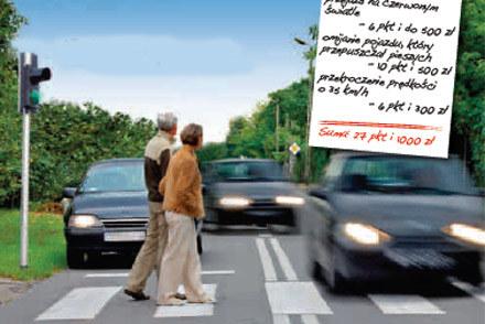 """Na pieszych trzeba uważać szczególnie... /tygodnik """"Motor"""""""