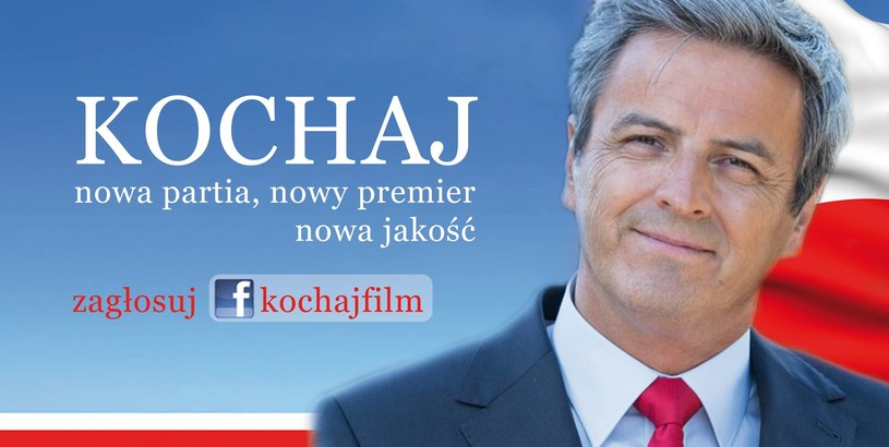 "Na Piotr Polka głosować można na facebookowej stronie filmu ""Kochaj"" /Kochaj /Facebook"