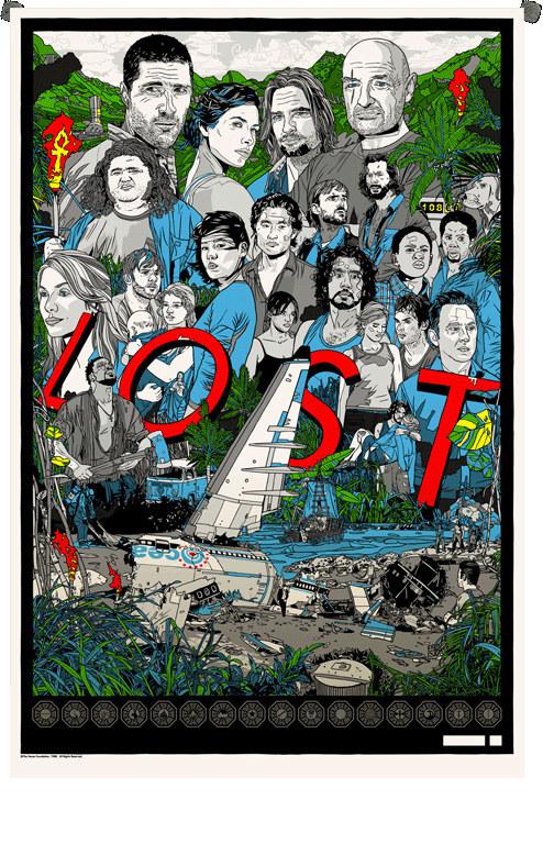 Na plakacie widzimy wszystkich głównych bohaterów z pięciu ubiegłych sezonów. /materiały prasowe