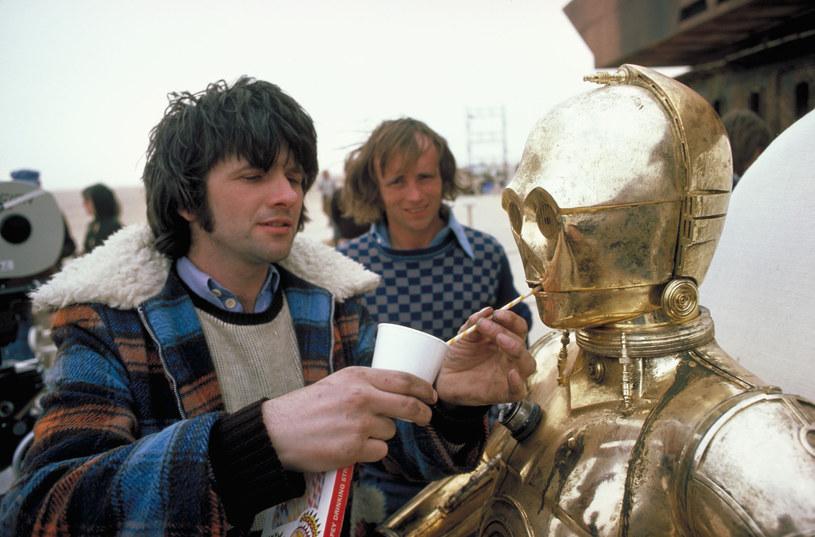 """Na planie """"Gwiezdnych Wojen"""" w 1977 roku /materiały prasowe"""