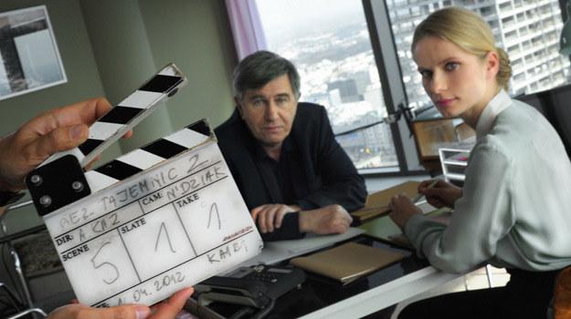 """Na planie serialu """"Bez tajemnic"""" /HBO"""