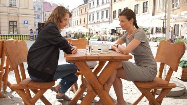 """Na planie serialu """"Wszystko przed nami"""" / fot. Agencja W. Impact /"""