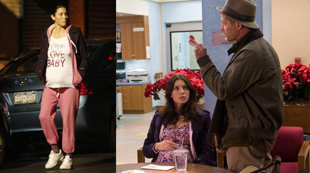 """Na planie """"Sylwestra w Nowym Jorku"""" Jessica Biel mogła sobie pofolgować /Splashnews"""