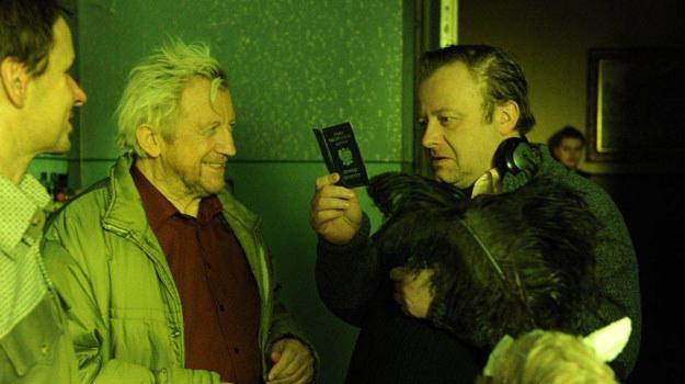 """Na planie """"Sztosu 2"""" Olaf Lubaszenko spotka się z ojcem - Edwardem Linde /materiały prasowe"""