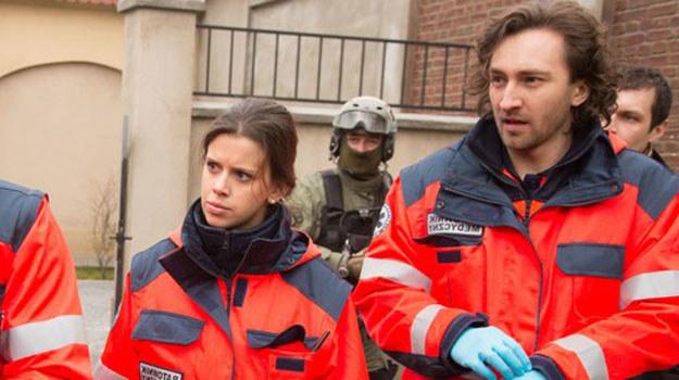 Na początku relacje Martyny (Monika Mazur) i Piotra (Dariusz Wieteska) będą niełatwe /Agencja W. Impact