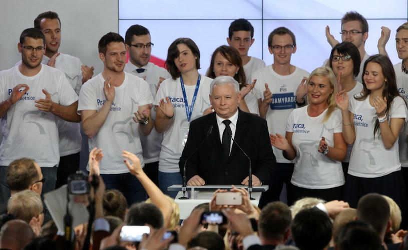 Na Podkarpaciu triumfuje partia Kaczyńskiego /Paweł Supernak /PAP