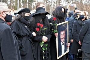 Na pogrzebie Krzysztofa Krawczyka pojawiło się ponad tysiąc osób