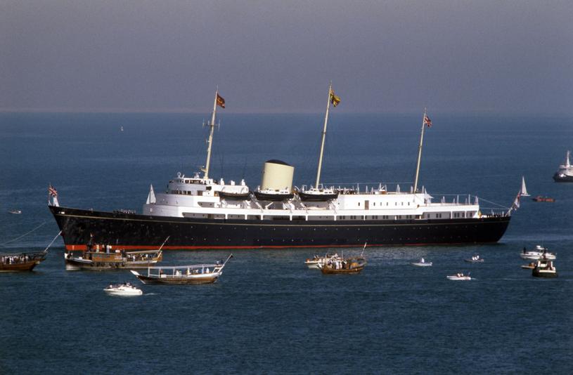 Na pokładzie było dość miejsca dla rodziny królewskiej, gości, 21 oficerów i 256 marynarzy /Getty Images
