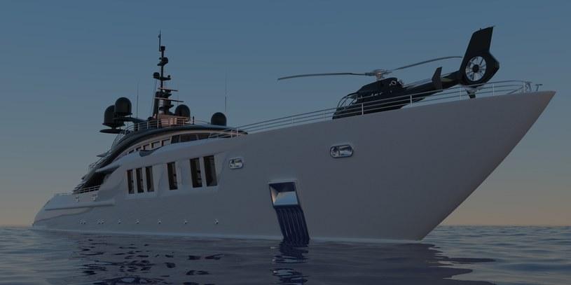Na pokładzie jednostki znajdzie się lądowisko dla helikoptera /123RF/PICSEL