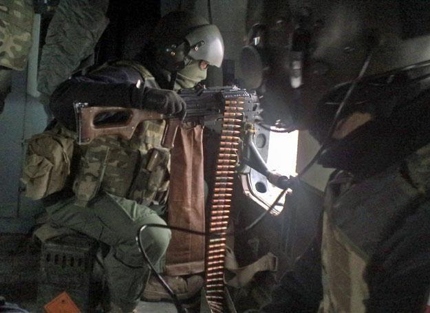 Na pokładzie Mi-17/fot. z archiwum M. Ogdowskiego, autora blogu zAfganistanu.pl /
