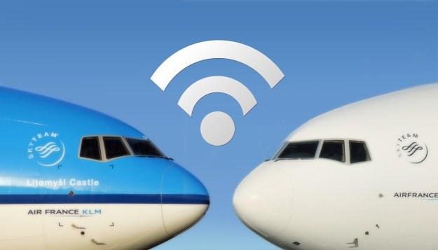 Na pokładzie samolotów AIR FRANCE KLM będzie można skorzystać z internetu /materiały prasowe