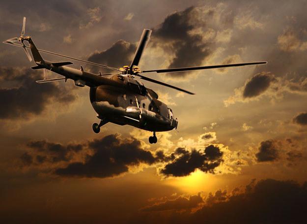 Na pokładzie śmigłowca znajdowali się przedstawiciele kadry dowódczej/ Zdjęcie ilustracyjne /123RF/PICSEL