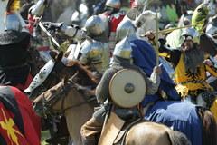 Na polach pod Grunwaldem rozgorzała bitwa