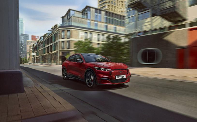Na polskich drogach można już trafić na Forda Mustanga Mach-E – najnowsze wcielenie legendy motoryzacji /materiały prasowe