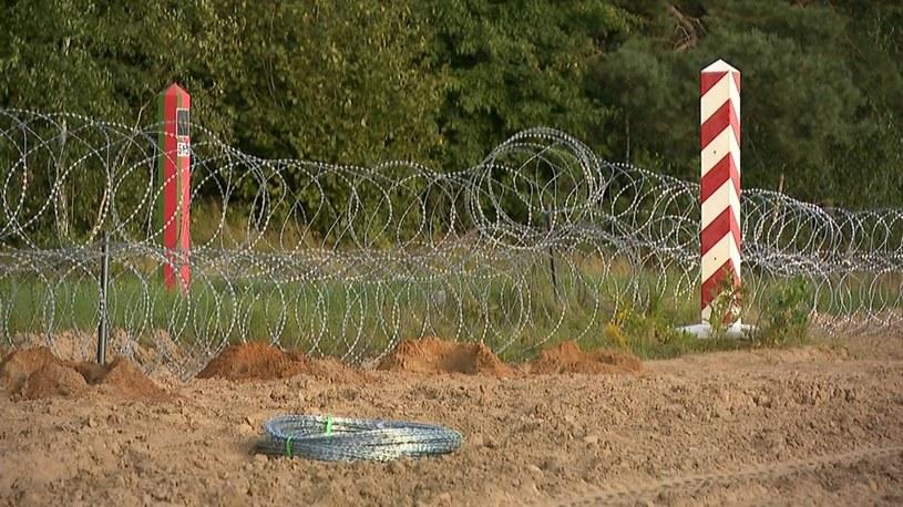 Na polsko-białoruskiej granicy obowiązuje stan wyjątkowy /Polsat News