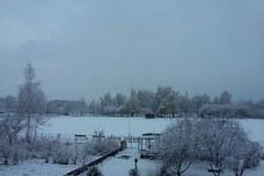 Na południe Polski wróciła... zima