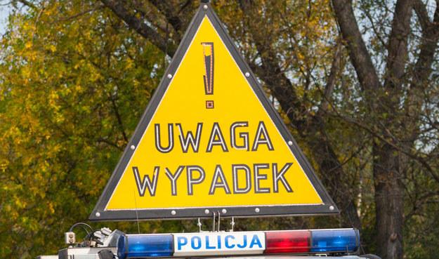 Na Pomorzu doszło już do 10 wypadków i kolizji /Piotr Rybarczyk /Agencja FORUM