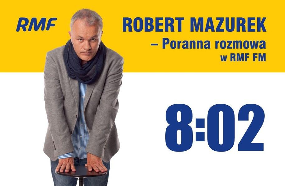 Na Poranną rozmowę w RMF FM zaprasza Robert Mazurek /RMF FM