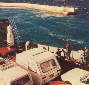 Na promie płynącym przez Cieśninę Dardanelską /Motor