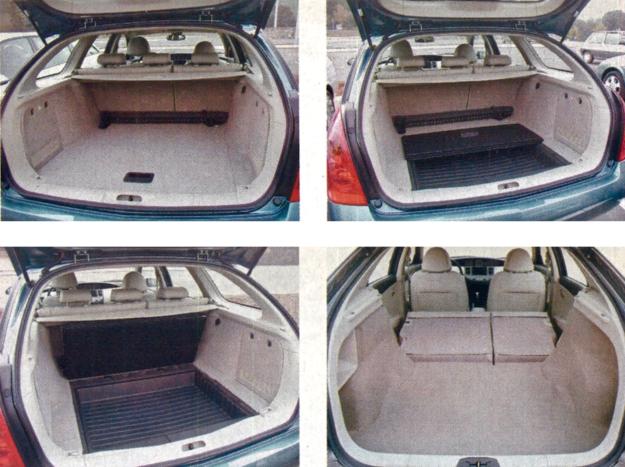 Na razie dostępne są wersje sedan i kombi. Ta druga wydaje się nieco atrakcyjniejsza. Jej przesrzeń bagażowa nie jest olbrzymia (jak na tę klasę), ale można wykorzystać nawet podwójną podłogę. /Motor