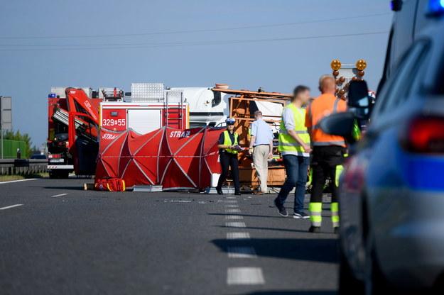 Na razie nie wiadomo, co było przyczyną wypadku /Jakub Kaczmarczyk   /PAP
