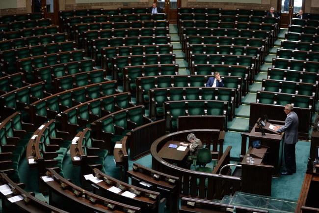 Na razie PiS sprawdza, kto zgodziłby się na powołanie komisji /Jacek Turczyk /PAP