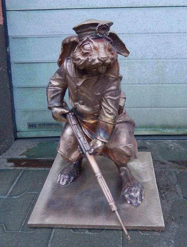 Na razie w Gnieźnie jest 6 posągów królików, zdj. Facebook Trakt Kólewski w Gnieźnie /Facebook
