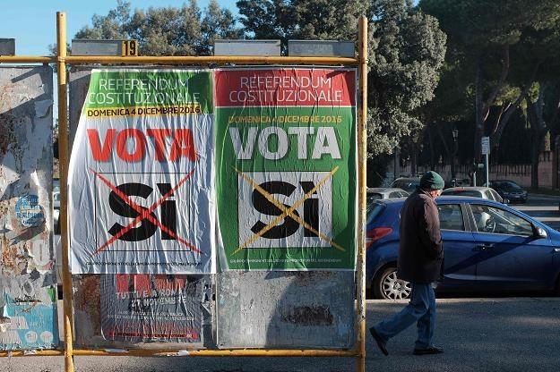 Na rynkach finansowych panują nerwowe nastroje przed referendum we Włoszech /AFP