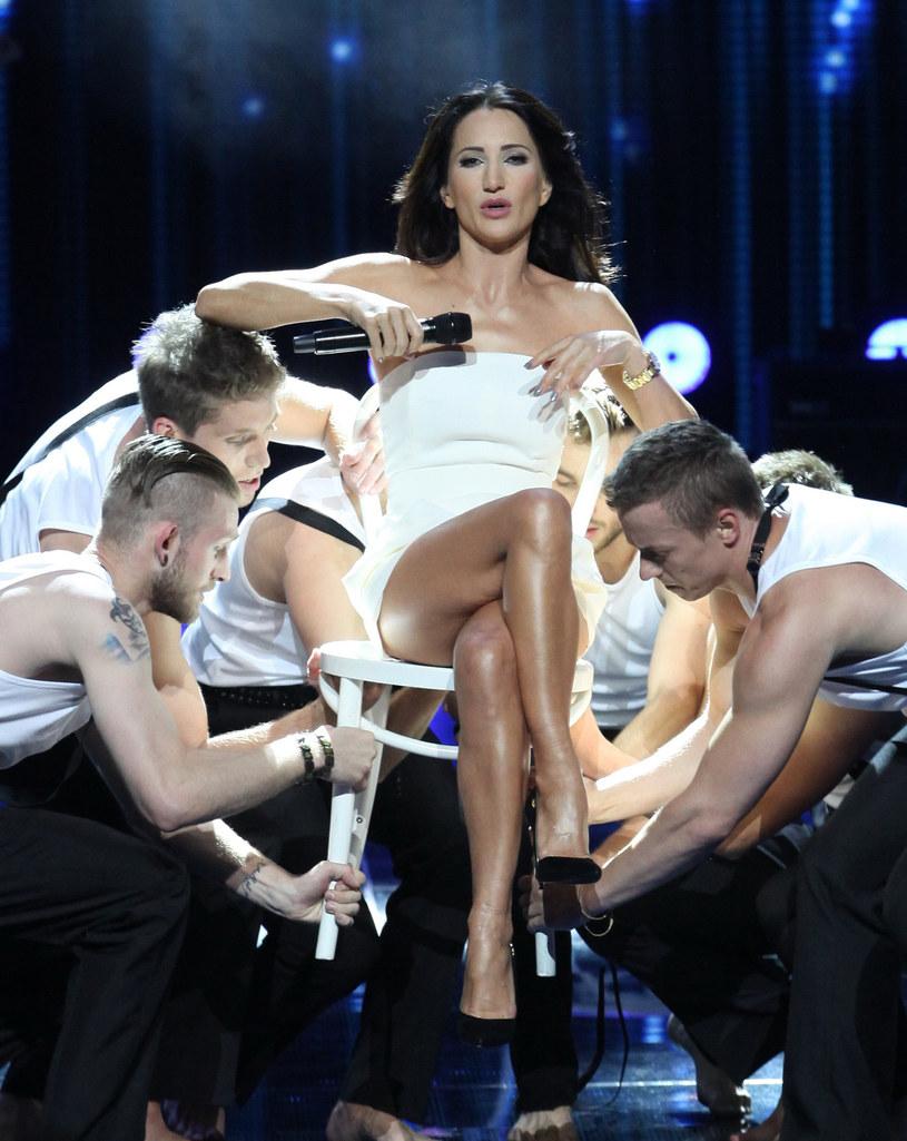 Na scenie najważniejszy jest show - na zdjęciu Justyna Steczkowska w Sopocie /Paweł Wrzecion /MWMedia