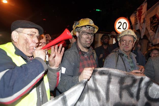 Na Śląsku protestowano przeciwko planom likwidacji kopalń. Fot. Dominik Gajda /Reporter