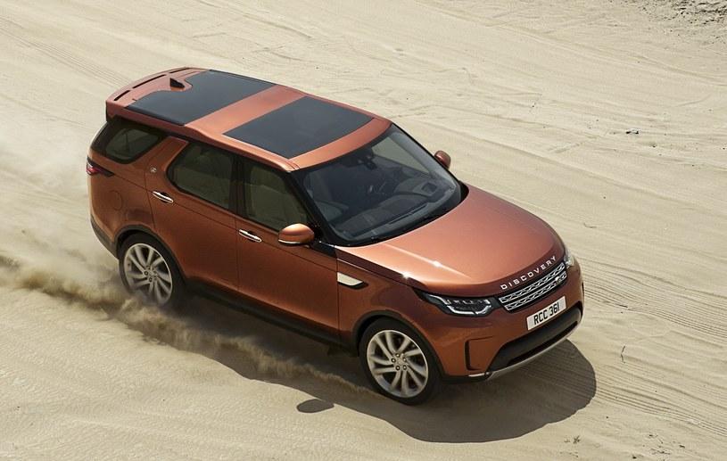 Na Słowacji ma być produkowany m.in. nowy Land Rover Discovery /