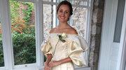 Na ślub założyła kreację sprzed… 120 lat!