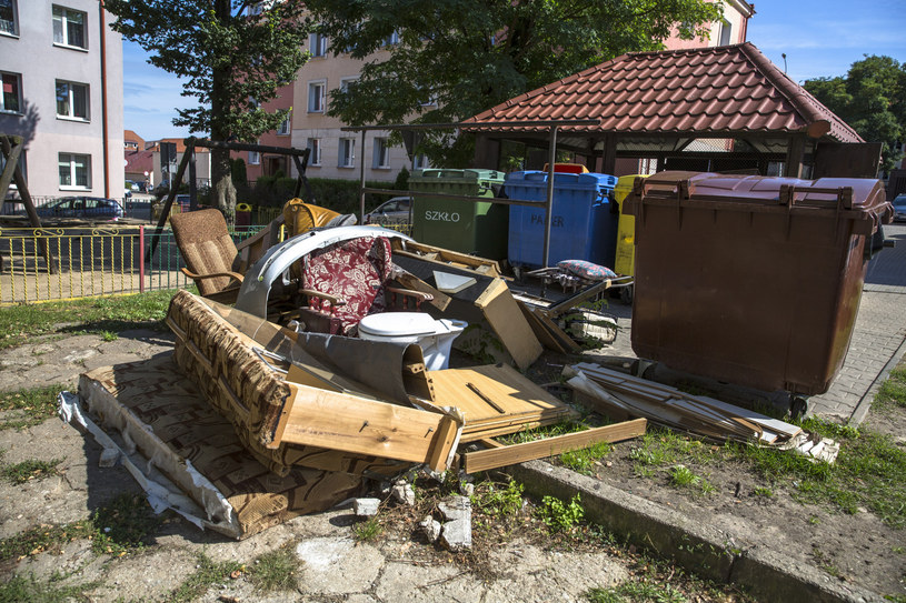 Na śmietnikach warto szukać m.in. cennych mebli /Marek Maliszewski  /Reporter