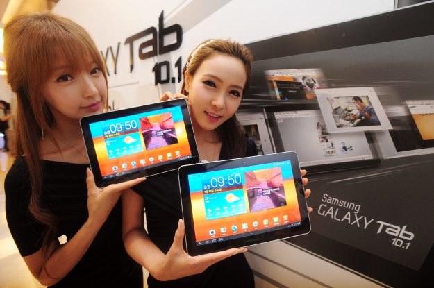 Na spadku formy Apple zyskuje konkurencja - głównie Samsung /AFP