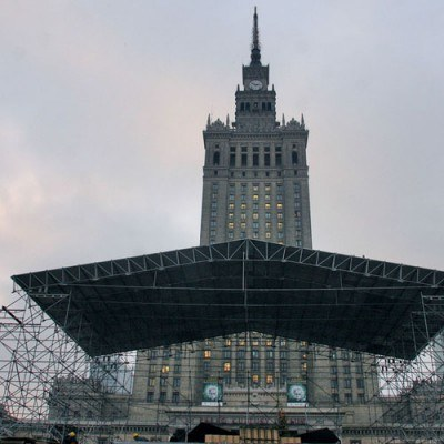 Na sprzedaż jest m.in. działka, na której miał stanąć budynek KDT na placu Defilad/fot. T. Zieliński /Agencja SE/East News