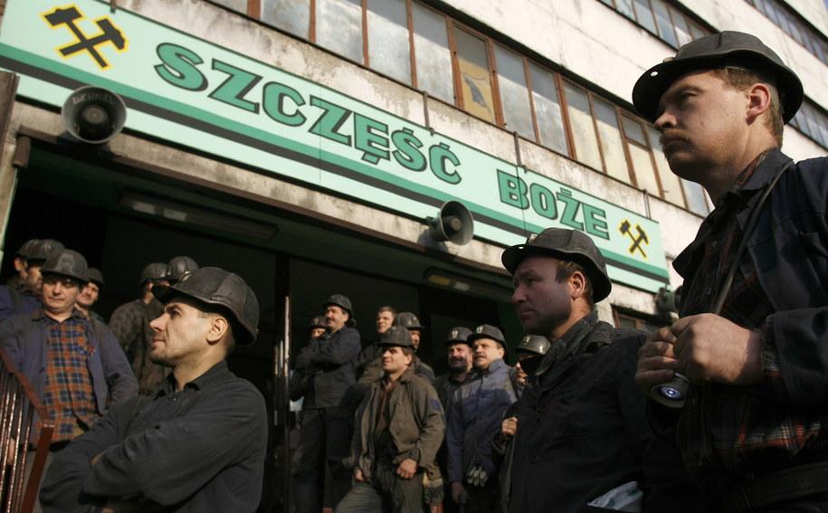 Na środę związkowcy z Kompanii Węglowej zapowiadają masówki /Andrzej Grygiel /PAP