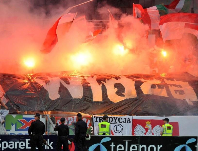 Na Stadio Olimpico w Rzymie ma być 2 tysiące kibiców Legii /AFP
