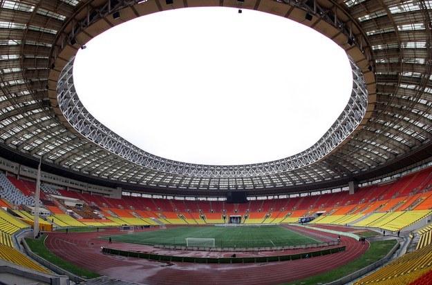 Na stadionie Łużniki w Moskwie rozegrany zostanie finał. /AFP