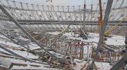 """Na Stadionie Narodowym ruszyła operacja """"big lift"""""""